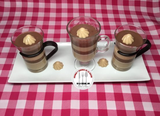 Gelatina de Capuchino con Chocolate