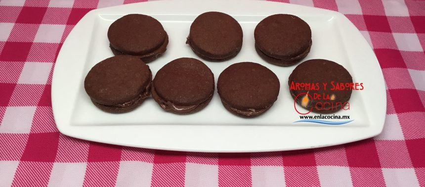 Galletas de Chocolate Rellenas