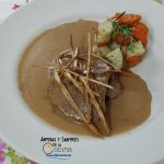 Filete de Res con Crema de Mostaza